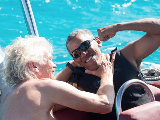 It's Impossible To Chill Any Harder Than Obama Is Chillin'