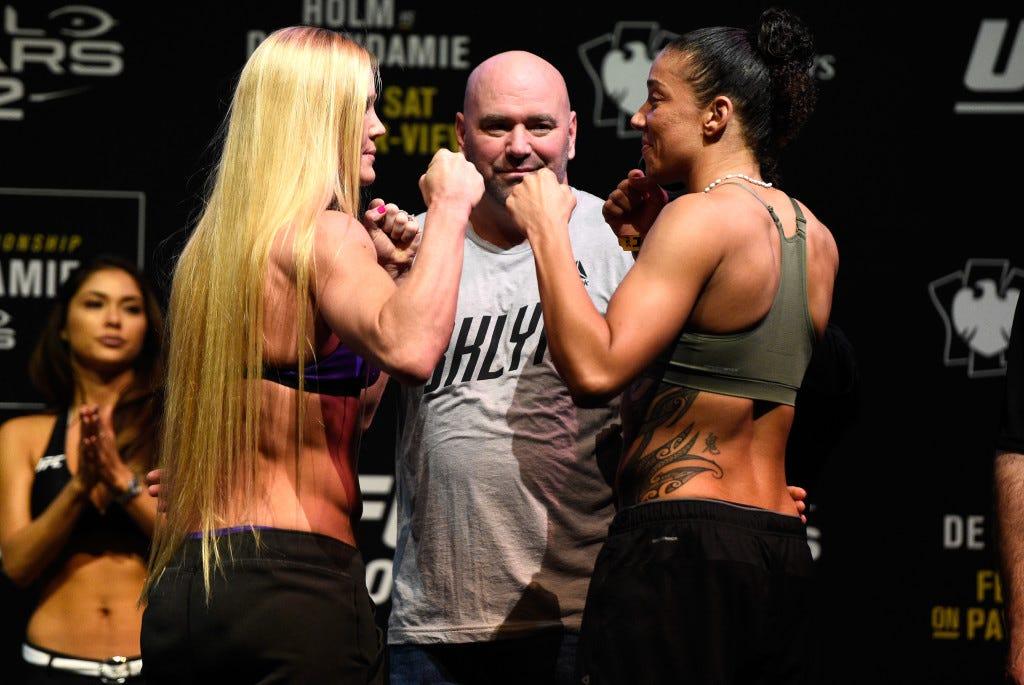 UFC 208 Weigh-in