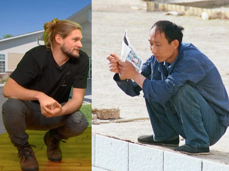 Western vs Asian Squat