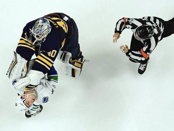 Hockey Was Violent Again Yesterday