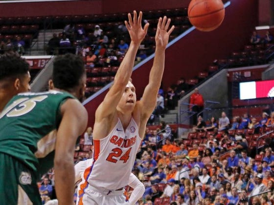 Canyon Barry Sets UF Free Throw Record By Shooting Granny Style, Which Begs The Question - Should It Even Count?