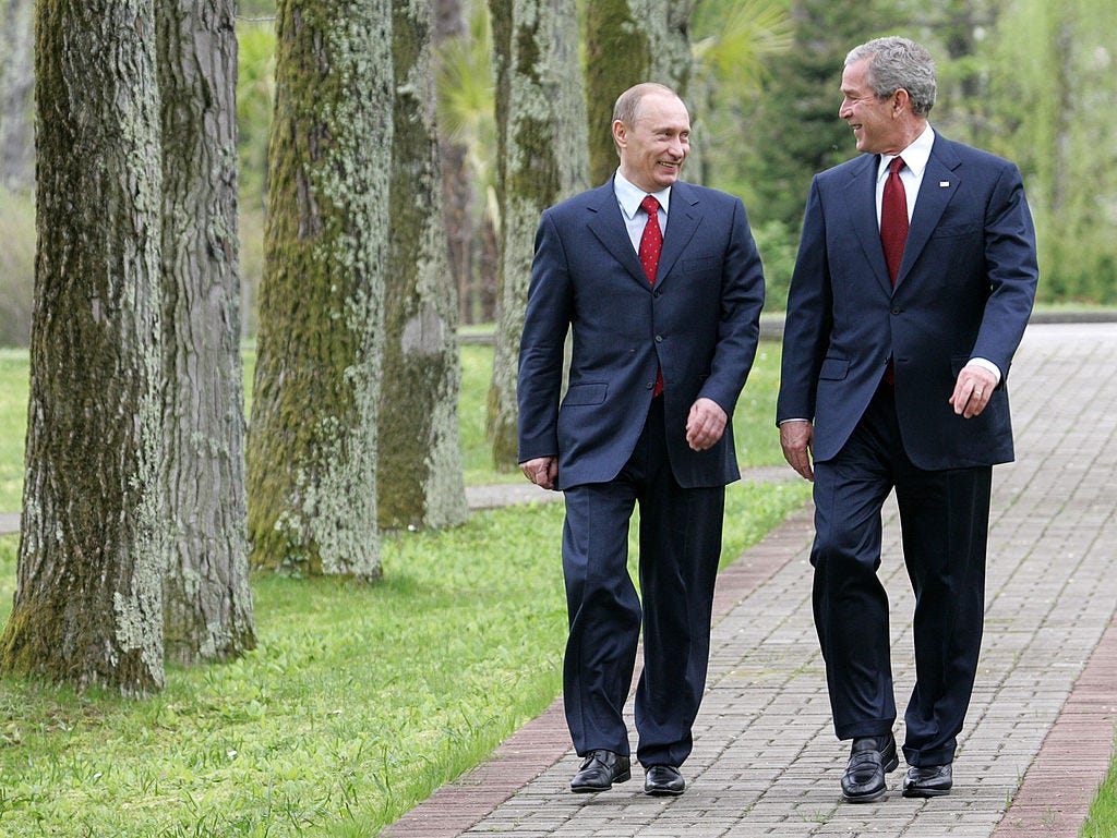US President George W. Bush Visits Russia