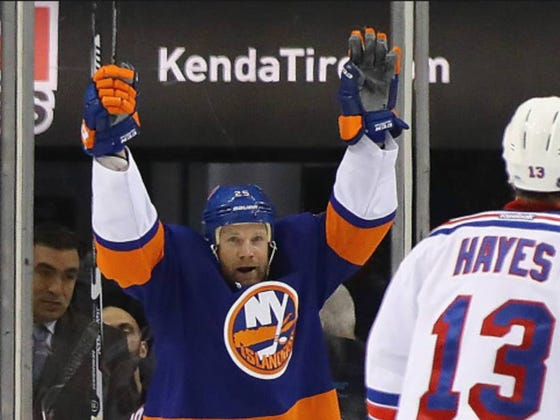 Jason Chimera Says He Hates Ranger Fans, I Have To Agree With Him Here