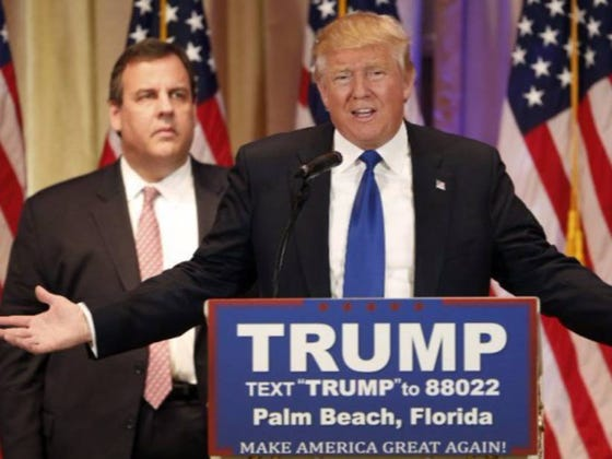 Donald Trump Made Chris Christie Order Meatloaf For Lunch