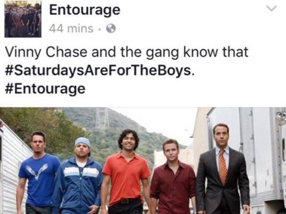 Saturdays Are For The Boys From Entourage to Jack Eichel to Pete Rose and Beyond