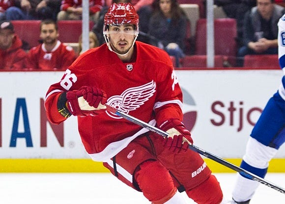 NHL: OCT 13 Lightning at Red Wings