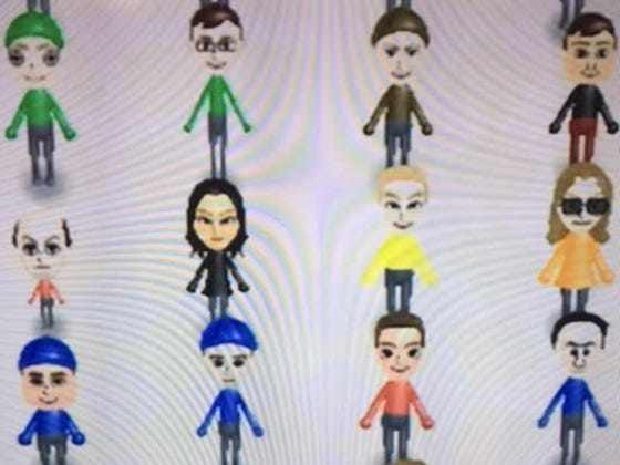 And Here We Have All Of The Barstool Employees In Nintendo Mii Form