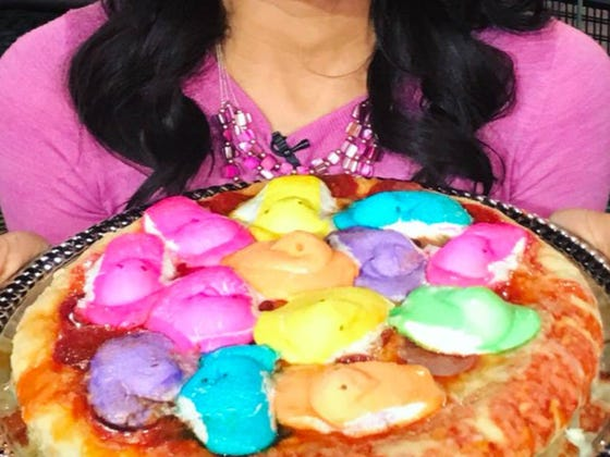 I've Held My Tongue For As Long As I Can Regarding The Peeps Pizza. It Must Be Stopped.