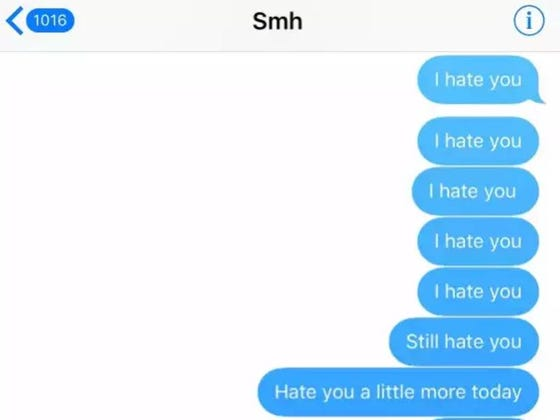 This Kid Going Viral Who Sent An Ex Spiteful Texts For Three Years Is Probably A Crime But What Dedication