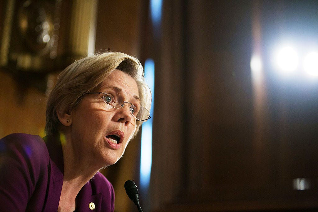 Senate Holds Hearing On Wall Street Reforms