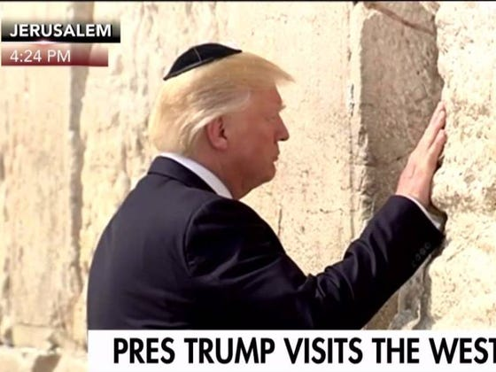 Images Of Trump Abroad Are Simply Hilarious