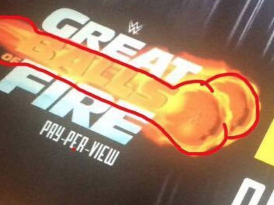 """Sasha Banks And Summer Rae Think The Logo For WWE's Next PPV """"Great Balls Of Fire"""" Looks Like A Dick And Balls (It Does)"""