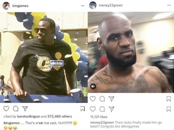 Draymond Green's Shirt At The Warriors Parade Seems To Have Sparked An Instagram Feud With LeBron (Parade Live Blog)