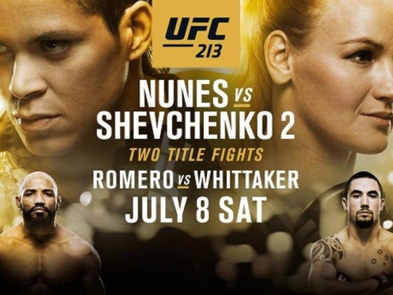 UFC 213 Caps Off International Fight Week Tomorrow Night In Vegas!