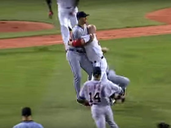 Wake Up With Kevin Youkilis Charging The Mound On Rick Porcello (2009)