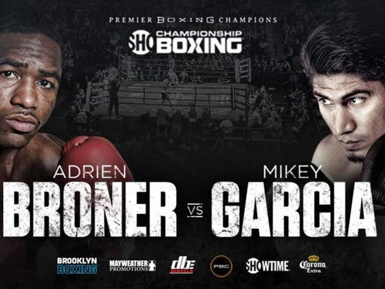 Adrien Broner to Take on Mikey Garcia at Barclays Center in One of the Summer's Biggest Fights on July 29th