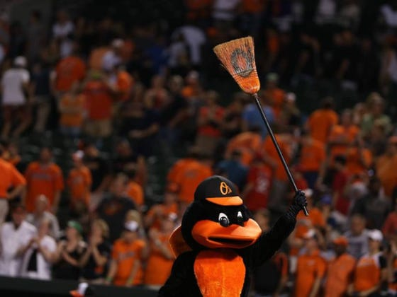 After Getting Skulldragged By The Cubs, The Orioles Rebound And Sweep A 4 Game Series With Texas