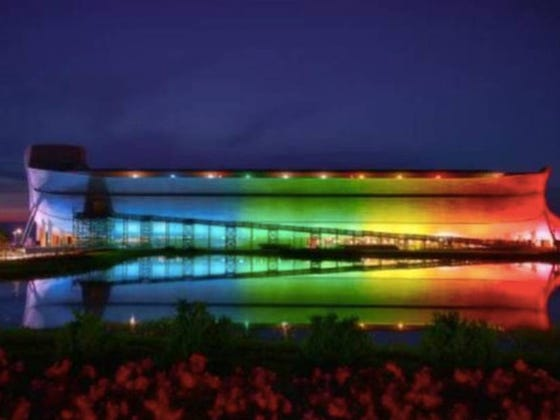 """Man Accidentally Turns His Christian Theme Park Into The Worlds Largest Gay Club By Trying To """"Re-Appropriate"""" The Rainbow"""