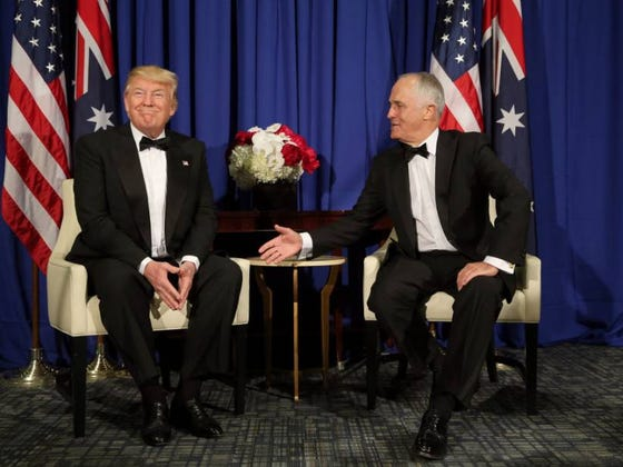You Won't Believe What Trump Said To The Australian Prime Minister In This Transcript!