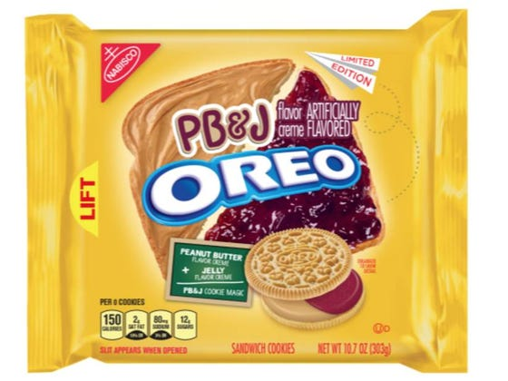 Peanut Butter And Jelly Oreos Are About To Hit Grocery Store Shelves