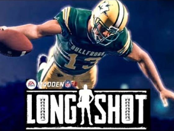 'Longshot' In Madden '18 Is Quite Simply The Greatest Thing To Come Out Of The Franchise In Years