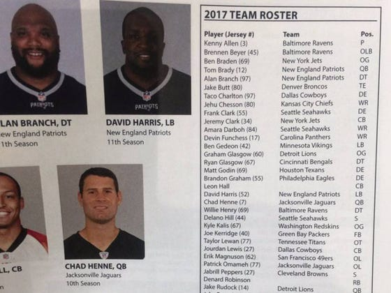 "Petty As Hell Jim Harbaugh Releases ""2017 Roster"" Consisting Of No Current Michigan Players And Decides To Not Name Starting QB Because Florida Won't Release Theirs"
