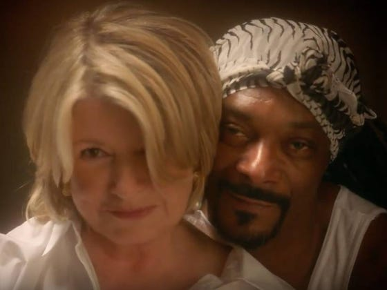 Martha Stewart And Snoop Dogg Reenacting The Pottery Scene From 'Ghost' Is Some Weird Shit