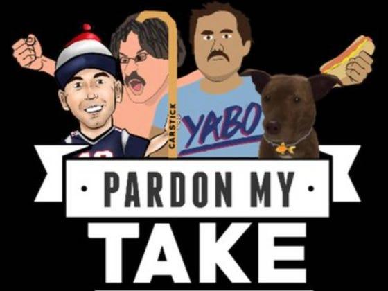 Pardon My Take 9-5 With AJ Hawk And Canelo Alvarez