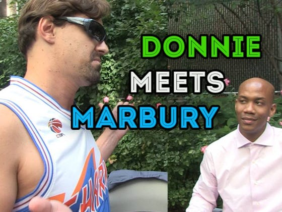 I Ran Into My Arch Nemesis Stephon Marbury in New York City