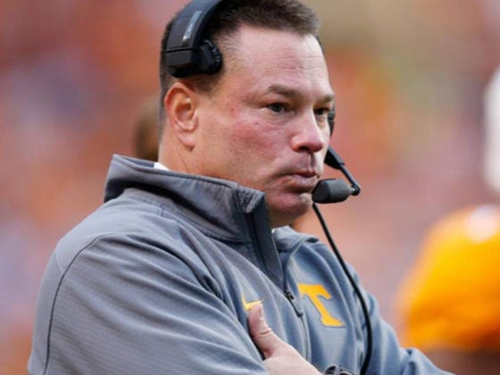 Butch Jones Drops Two New 'Butchisms' Involving Winning Bye Weeks And Leadership Reps
