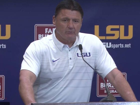 Chicken-On-A-Stick From The Chevron Station Is All Ed Orgeron Misses About Ole Miss