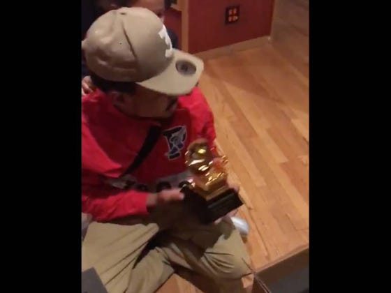 Chance Finally Got His Grammys In The Mail