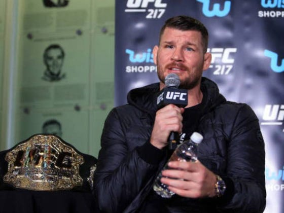 UFC Champ Michael Bisping Apparently Choked A Teenager At A 24 Hour Fitness
