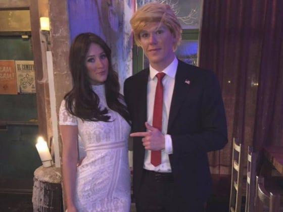 You'll Never Believe This But People Are Mad Online That Connor McDavid Dressed As Donald Trump For Halloween