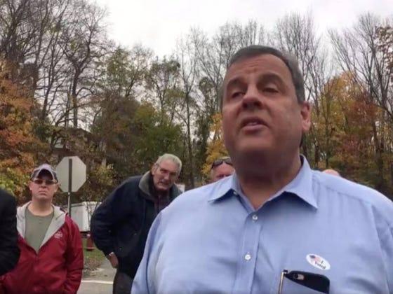 Watch Chris Christie Belittle This New Jersey Voter