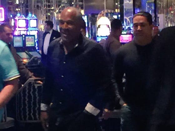 OJ Simpson Kicked Out Of The Cosmopolitan In Vegas For Being Drunk And Belligerent