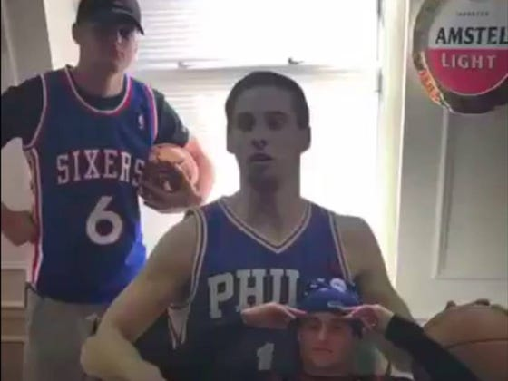 Turns Out The Best Sports Highlights Come From A Bunch Of Saint Joe's Stoolies Cleaning Their Apartment