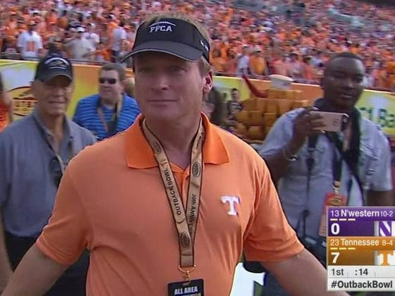 An Update On #GRUMORs: Jon Gruden Is Either A Phenomenal Troll Or He Will Soon Be Tennessee's Head Coach