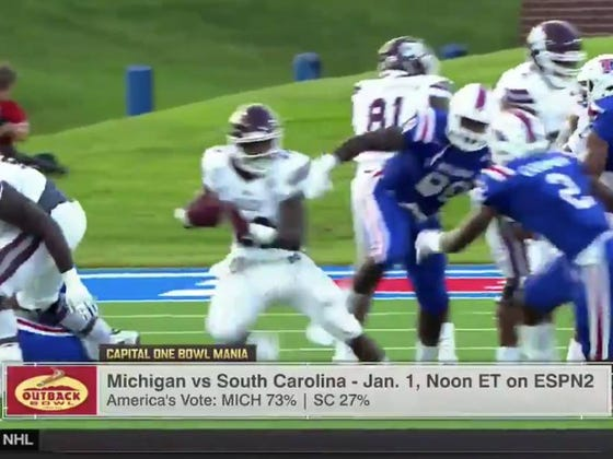 ESPN Spends Entire Segment Previewing Bowl Game Between Michigan-Mississippi State, A Bowl Game That Doesn't Exist