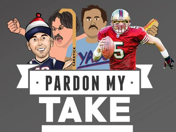PMT 12-13 Former NFL QB Jeff Garcia And Shawn Booth (Winner Of The Bachelorette) For Guys On Chicks