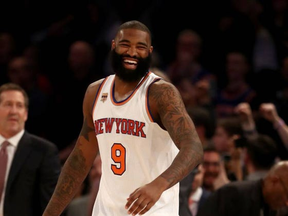 "The Knicks' Kyle O'Quinn Is Known As ""Bar Mitzvah Man"" Because He Spends His Weekends Going To Random Kids' Bar Mitzvahs"