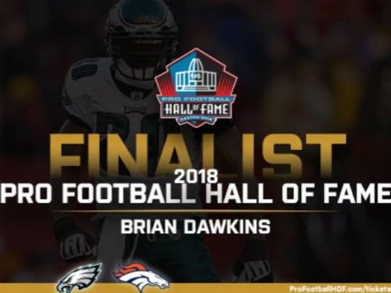 Lord Brian Dawkins Is, Yet Again, A Finalist For The NFL Hall Of Fame