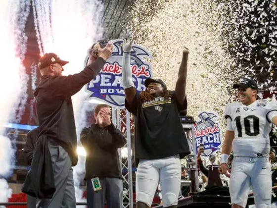 UCF Athletic Director Says They Will Be Hanging A National Championship Banner At Their Stadium And Are Planning To Hold Parade