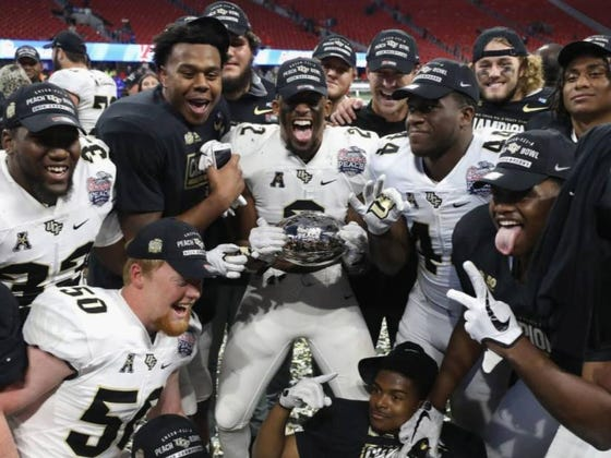"""UCF Will Hold A """"Block Party"""" To Celebrate Their """"National Championship"""" On Monday, An Hour Before The Actual National Championship Game"""