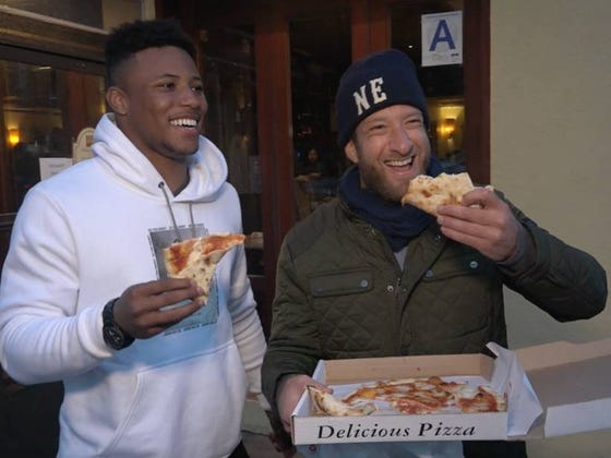 Barstool Pizza Review - Mediterraneo With Special Guest Saquon Barkley