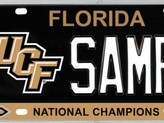 """Auburn Graduate Files House Bill To Recognize UCF As """"National Champions"""" On Specialty License Plates"""