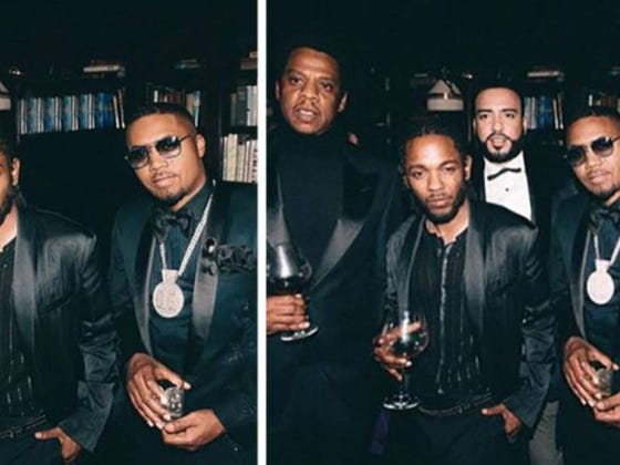 Diddy Straight Up Photoshopped French Montana Out Of A Picture Like A Mean Girl
