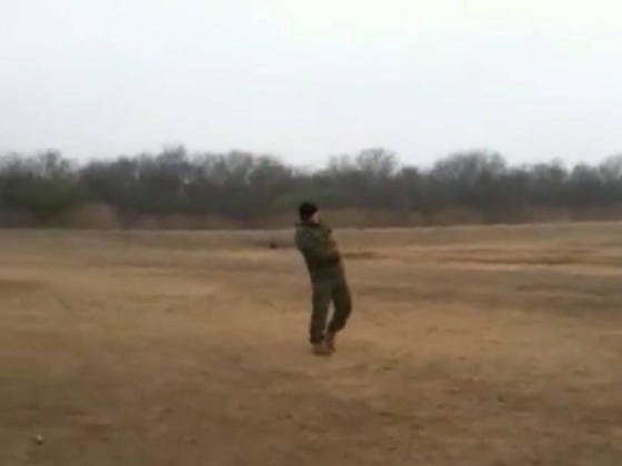 Since Tom Brady Got Bit By A Military Working Dog, Here's A Video Of Me Training MWDs