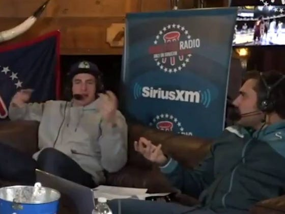 Luke Willson Describing The End Of The Super Bowl On Evening Yak Was One Of The Best Clips I've Seen In A Longgggg Time