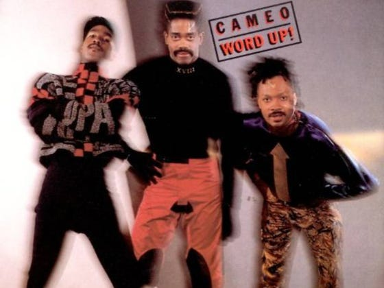 Wake Up With Cameo - Word Up
